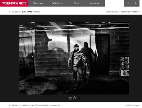 """Il virus della manipolazione, fotografia di Paolo Pellegrin tratta dal reportage """"The Cescent"""""""