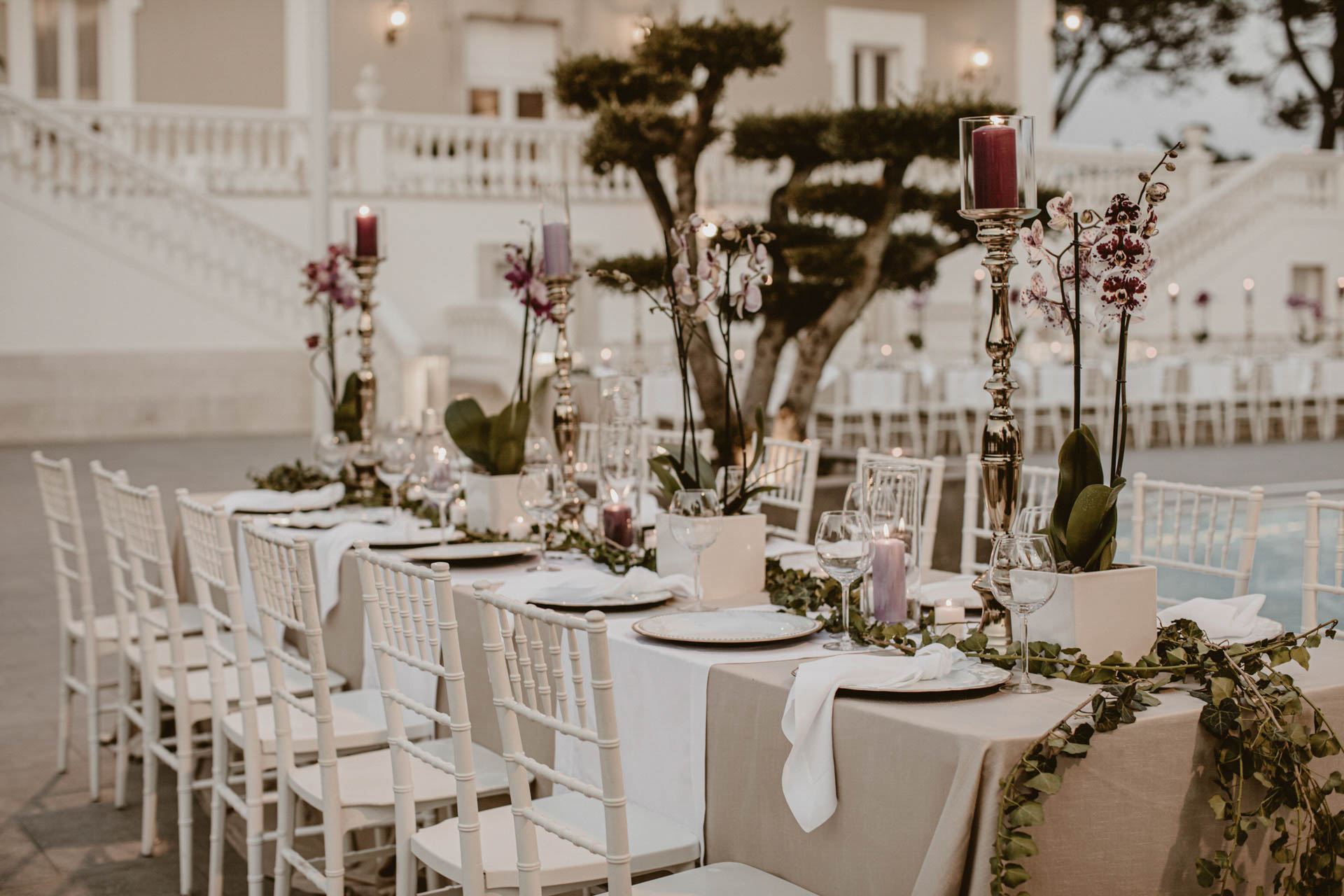 6 consigli per la tavola delle nozze