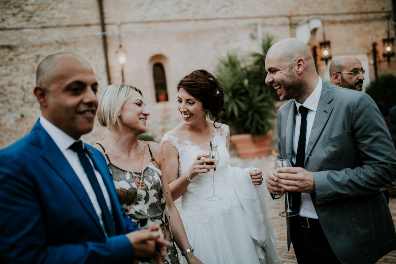 The beautiful wedding story of Alessia and Danilo, a beautiful wedding in south Italy in a wonderful location, San Basilio Castle.