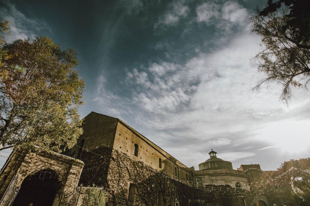 Le nozze al castello San Basilio