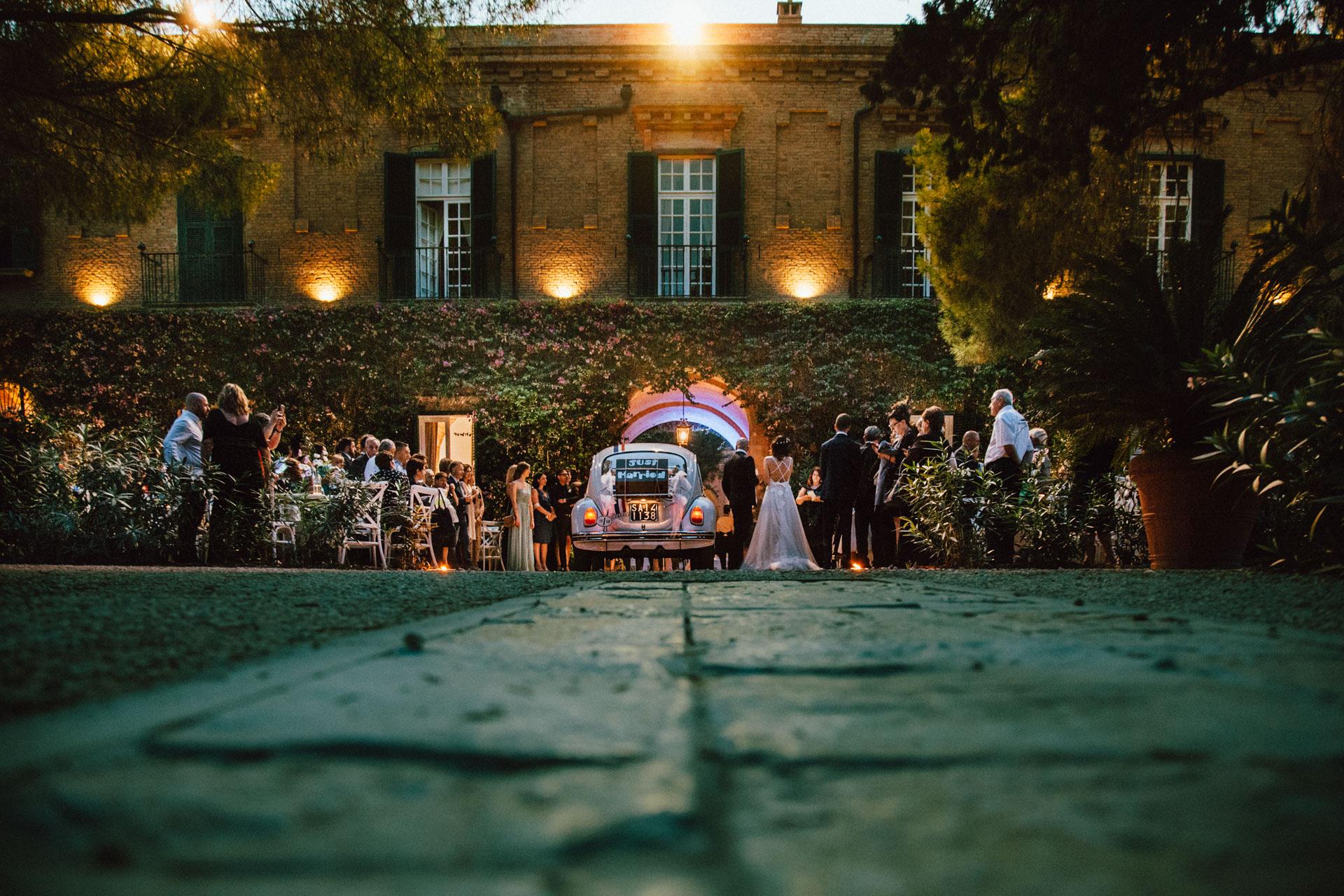Le nozze a Tenuta Visconti
